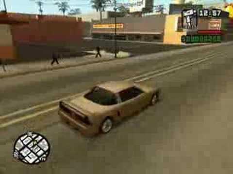 GTA: San Andreas - Vehicle Demonstration - Infernus