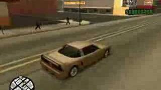 GTA: San Andreas - Vehicle Demonstration - Infernus