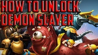 Clash Of Lords 2 - How To Unlock The DEMON SLAYER Fast And FREE!
