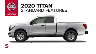 homepage tile video photo for 2020 Nissan Titan S Walkaround & Review
