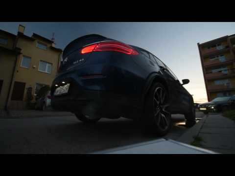 2017 Mercedes-AMG GLC 43 4Matic Coupe Cold Start PURE SOUND
