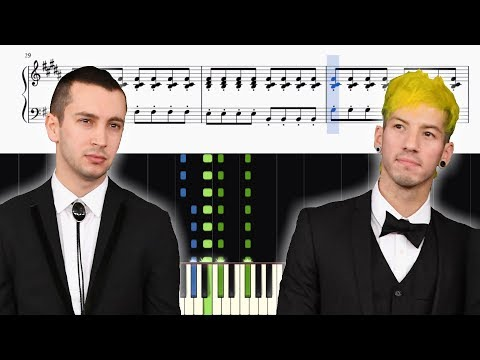 twenty one pilots: Holding On To You - Piano Tutorial + SHEETS