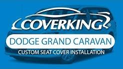How to Install 2011-2018 Dodge Grand Caravan Custom Seat Covers | COVERKING®