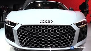 2017 Audi R8 V10 Plus - Exterior and Interior Walkaround - 2016 New York Auto Show