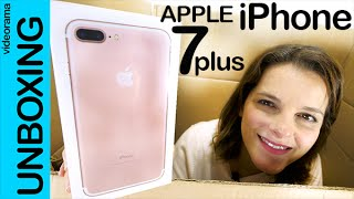 Apple iPhone 7 plus unboxing en español | 4K UHD