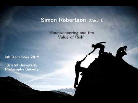 Simon Robertson talk on Mountaineering & the Value of Risk
