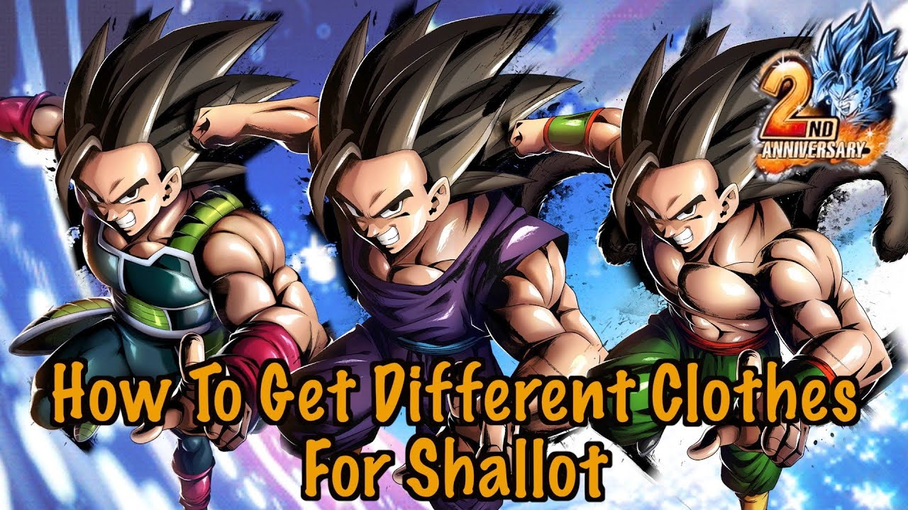 How To Get Outfits For Shallot Dragon Ball Legends Youtube
