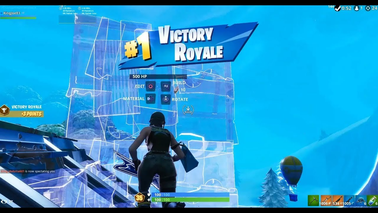 24 Kill Solo Arena Ranked Gameplay (Fortnite Ps4 Controller)