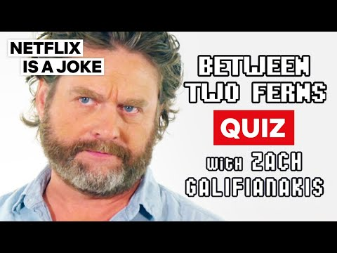 Between Two Ferns Quiz with Zach Galifianakis | Netflix Is A Joke