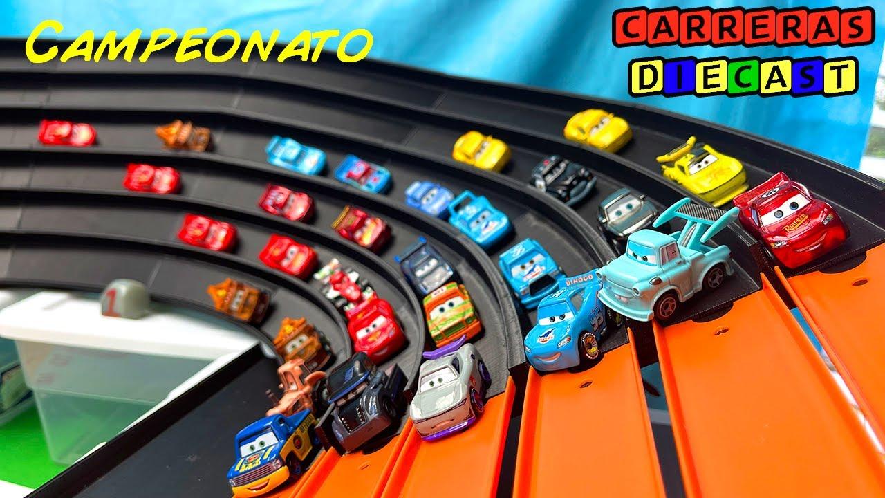 DISNEY CARS MINI RACERS SUPER TRACK CAMPEONATO tercera parte LA FINAL