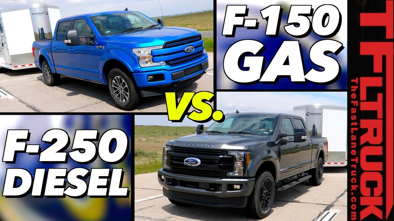 F150 Vs F250 >> Do You Really Need A Heavy Duty Truck To Tow 9 000 Lbs Ford F 150 Vs F 250 Mpg Review