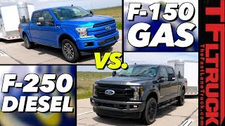 Do You Really Need a Heavy Duty Truck to Tow 9,000 lbs? Ford F-150 vs F-250 MPG Review