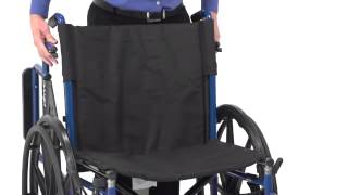 Drive Medical - Blue Streak Single Axle Wheelchair