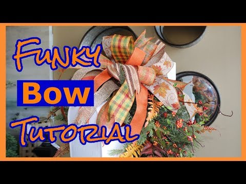 Learn How To Make Ribbon Bow Three Different Ways Tutorial