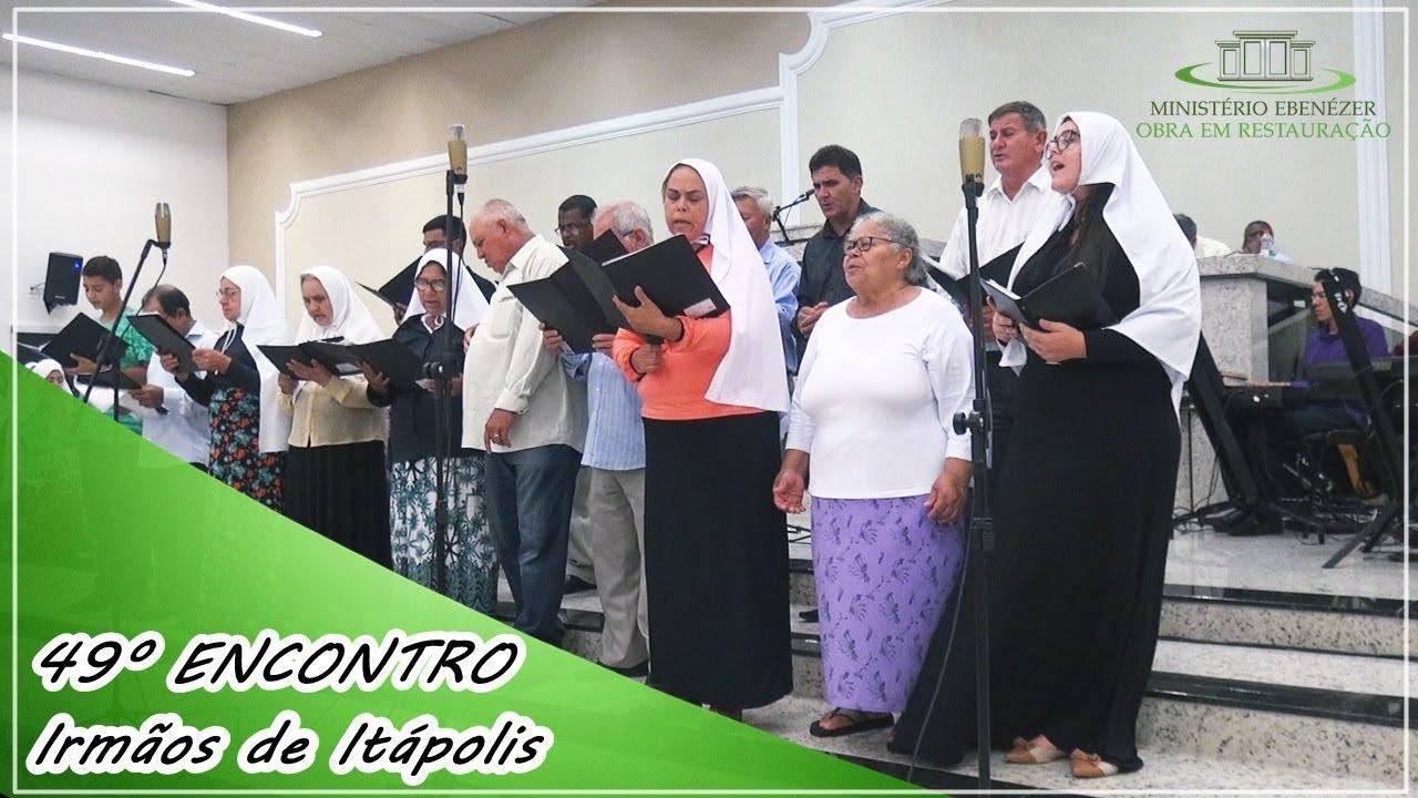 49� Encontro 2019 - Irm�os da igreja que est� em It�polis. Culto de s�bado dia 02.03