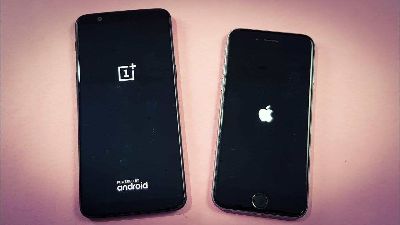 IPHONE 6 VS ONEPLUS 5T