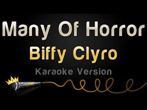 Biffy Clyro - Many Of Horror (Karaoke Version)
