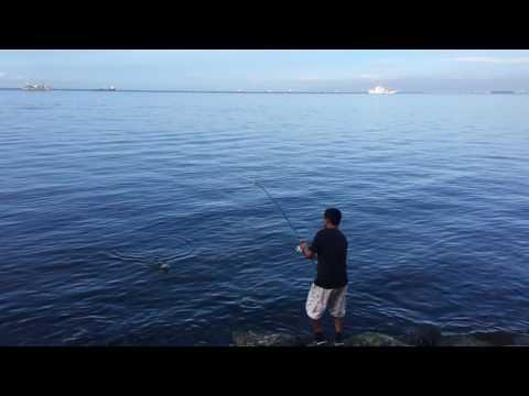 Fishing in Manila Bay