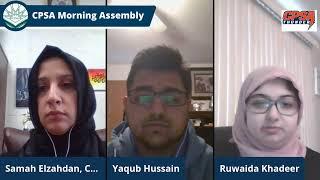 CPSA Morning Assembly Monday March 15, 2021