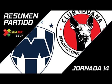 Resumen   Monterrey 0 - 6 Tijuana   eLiga MX - Clausura 2020 - Jornada 14   LIGA BBVA MX