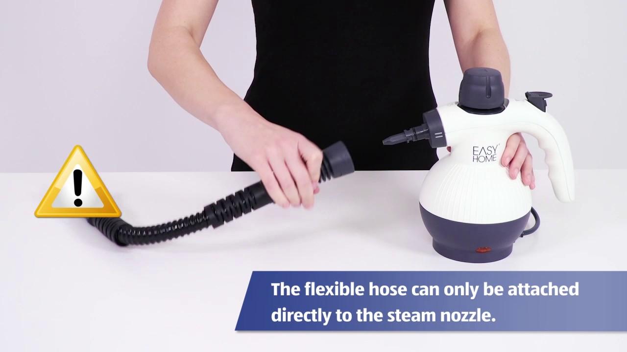 Hand Held Steam Cleaner Youtube