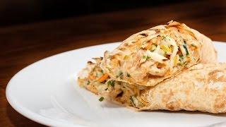Любимые Рецепты.  Шаурма из курицы.  Вкусная домашняя шаурма всего за 20 минут.