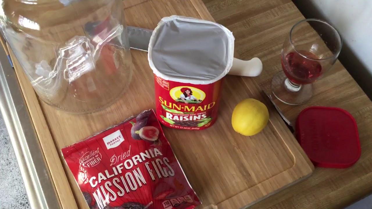 Wine from raisins at home: recipe 87