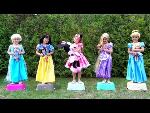 Five Princess Song Nursery Rhymes For Kids From Ksysha