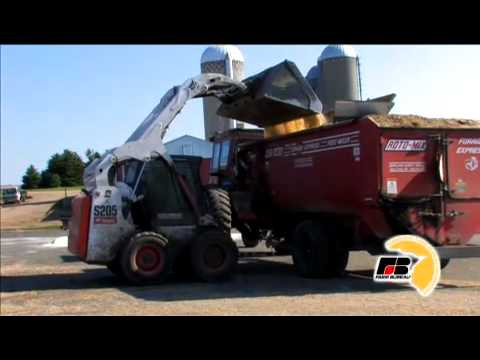 Mixing Cattle Feed
