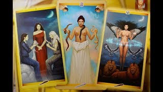 ГАЛЕРЕЯ колоды Таро Священной Женственности