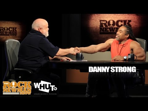 Danny Strong on the Rock Newman