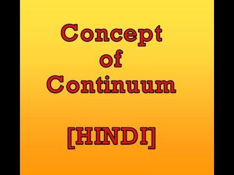 Concept of Continuum in Hindi (THERMODYNAMICS)
