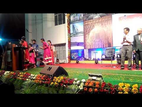 Jmj students got first prize for dimsa dance  at balotsav 2017