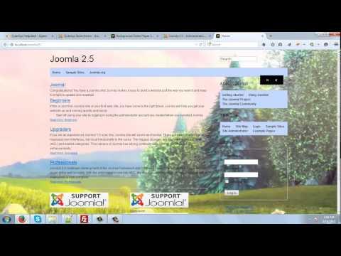 Background Video Player Joomla Module