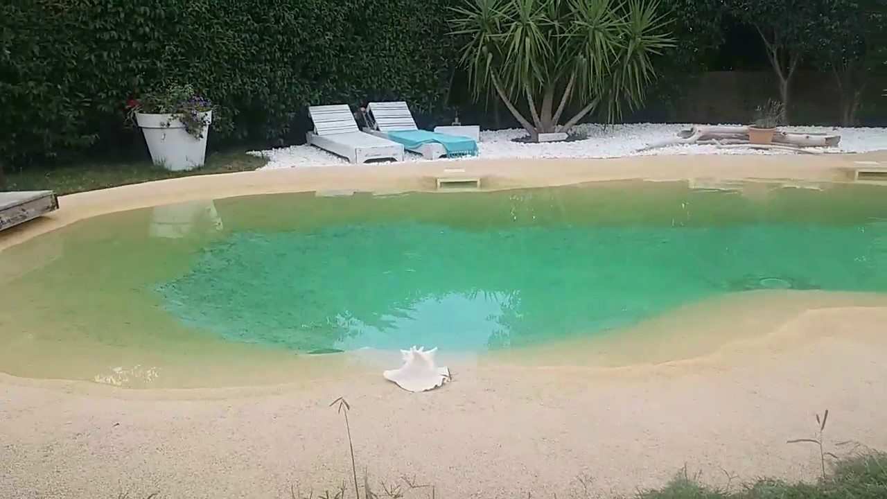 piscine caoutchouc apr s 5 ans youtube