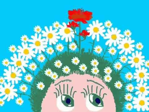 Почему на голове растут цветочки