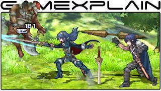 Fire Emblem Characters in Project X Zone 2 - Trailer (Chrom & Lucina + Xenoblade)