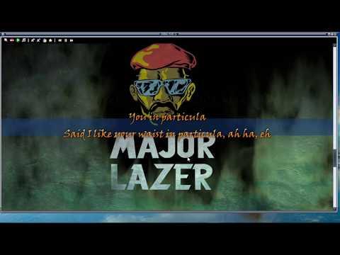 Particula(Lyric Video)-Major Lazer ft DJ  Maphorisa Nasty C Ice Prince Patoranking  Jidenna