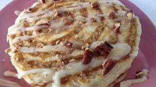 Gemma's Cinnamon Roll Pancakes