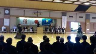 井上義彦範士日本剣道形壮絶演武(Inoue Kendo Kata )20121006 Video