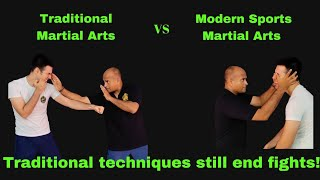 Traditional Techniques Still End Fights!
