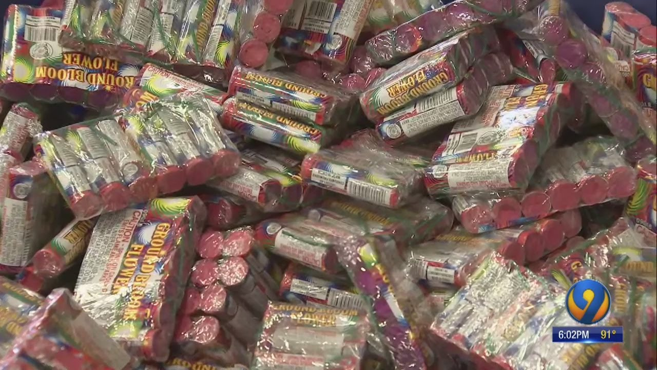 Thousands of fireworks recalled ahead of Fourth of July