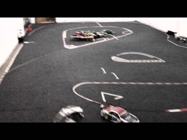 MS01Dfm vs FS01D practice on Allstar RC Drift Shop area Travel Video