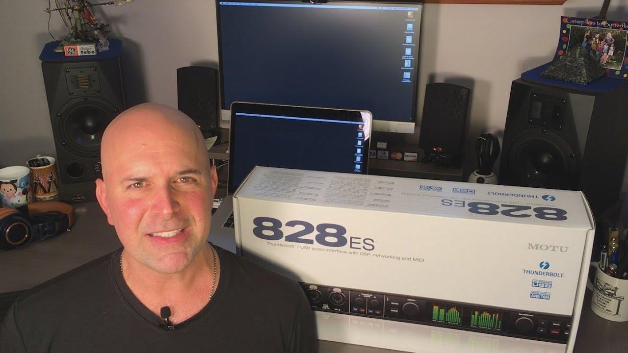 MOTU 828es Audio Interface: First Look