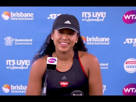 Naomi Osaka's hilarious press conference! 2019 Brisbane International Second Round | 大坂なおみ