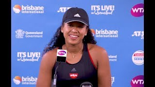 Naomi Osaka's hilarious press conference! 2019 Brisbane International Second Round | 大坂なおみ