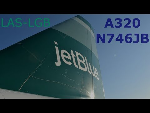jetBlue Trip Report: Vegas to Long Beach (NEW YORK JETS LIVERY)