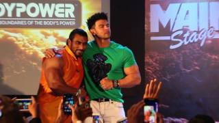 BodyPower Expo 2017 Mumbai   Filmstar Sahil Khan & Mr. India Sangram Chaugle