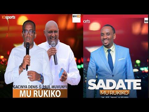 #10SportsLive: Inama itunguranye yahuje Munyakazi Sadate n'uruhande batavuga rumwe muri Rayon Sports