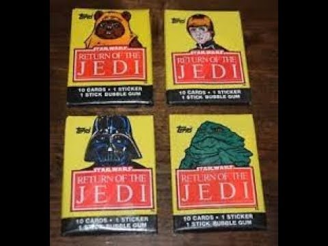 1983 Star Wars Return of the Jedi Series 2 Base Cards NM Packfresh You-Pick
